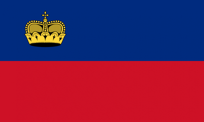 flag of lichtenstein