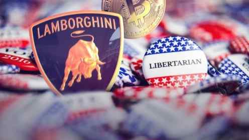 lamborghini, Bitcoin, and libertarianism