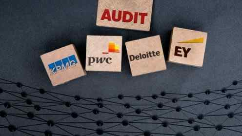 Big Four Accounting Auditing Blockchain