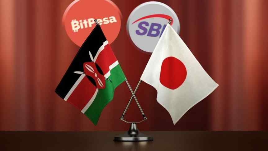 Kenya and Japan Bitpesa and SBI