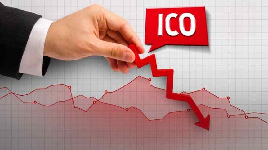 ICOs are down