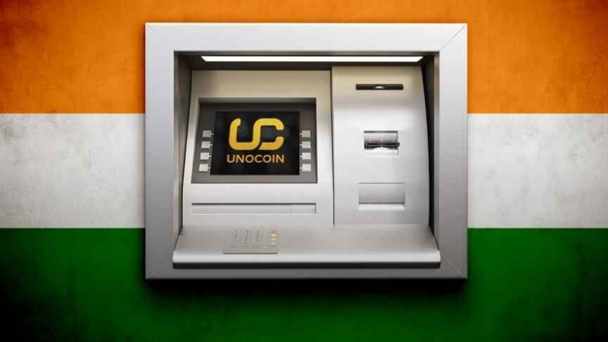 India cryptocurrency ATMs.