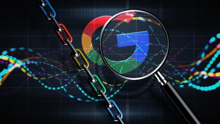 Google blockchain search