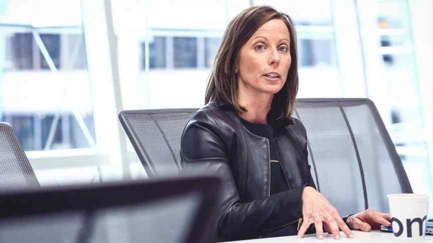 Picture of Adena Friedman, President and CEO of Nasdaq