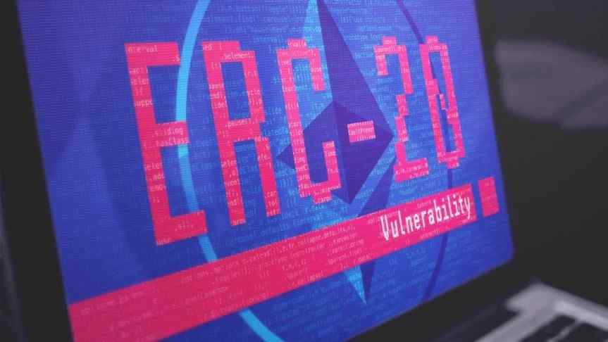 illustration of ERFC-20 Vulnerability displayed on a laptop