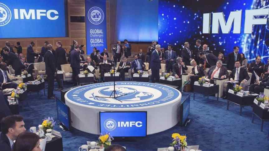 Image showing the IMFC round table meeting