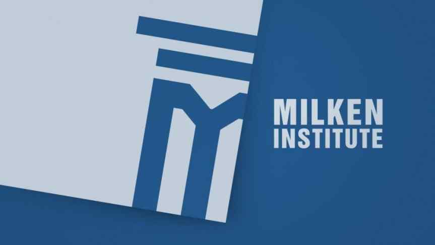 Reinterpretation of Milken Institute Global Conference logo