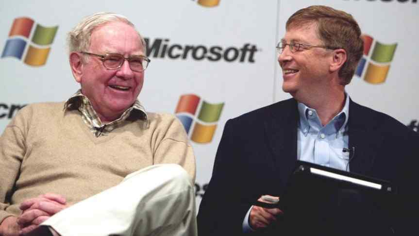 Warren Buffet and Bill Gates