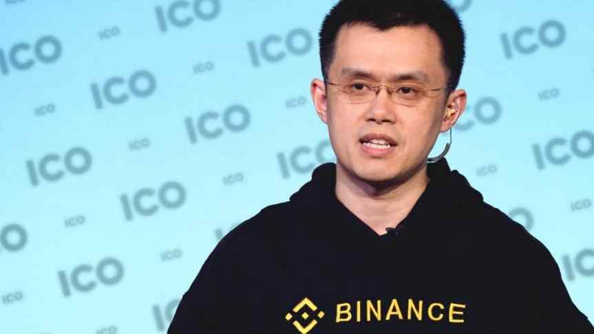 Changpeng Zhao, the CEO of Binance