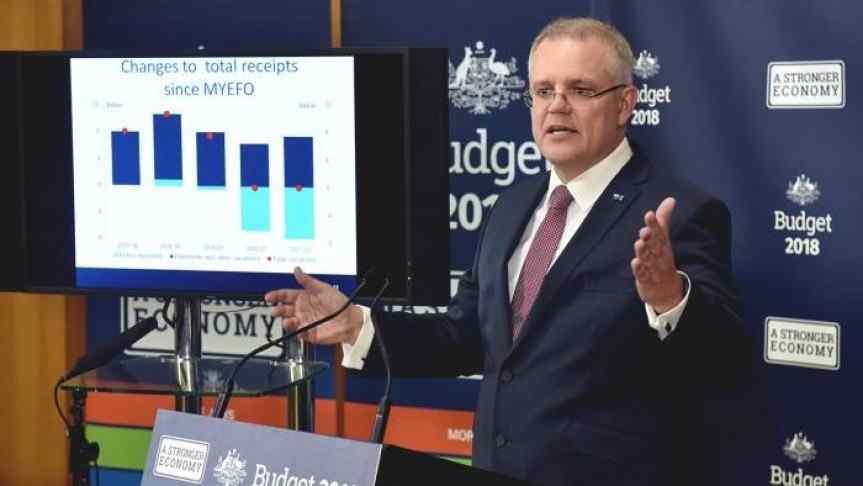 Australian politician Scott John Morrison