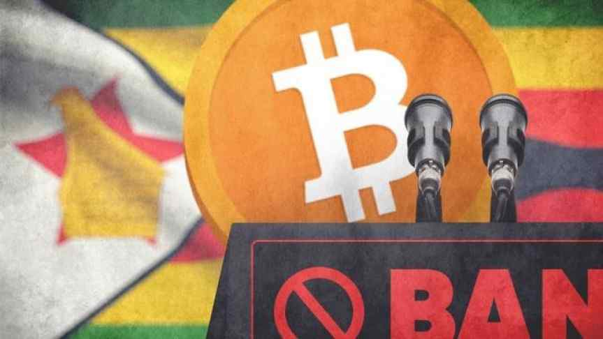 Zimbabwe's Reserve Bank Issues Total Ban on Cryptocurrency