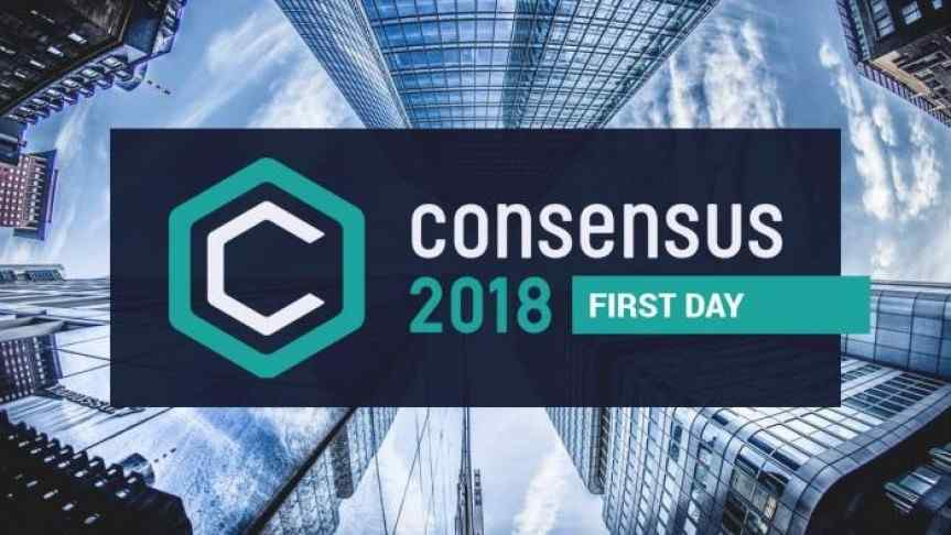 Consensus 2018's First Day