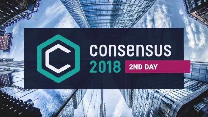 Consensus 2018's Second Day