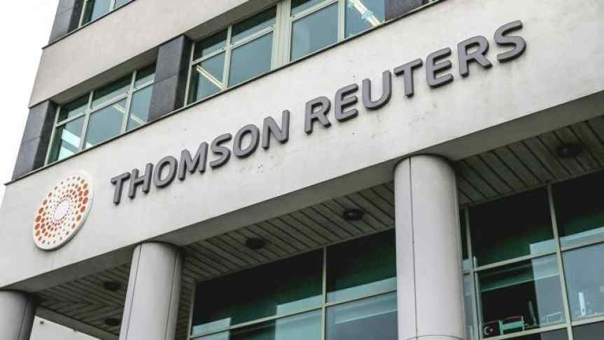 The Thomson Reuters building