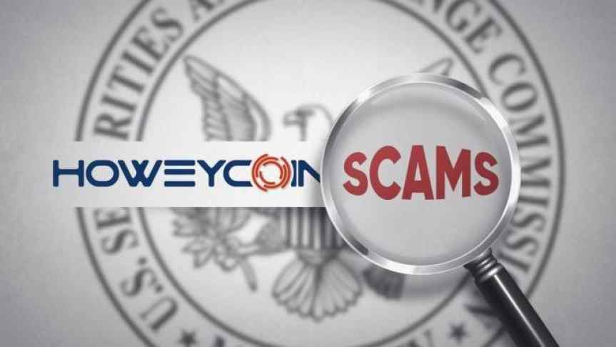 Illustration of HoweyCoins, SEC's fake ICO that warns buyers they almost fell for a scam.