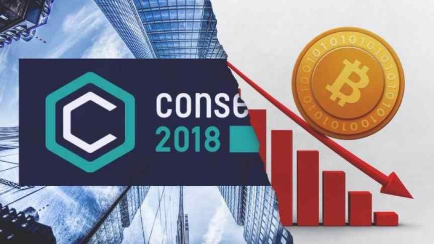 Consensus 2018 Conference Fails to Lift the Market