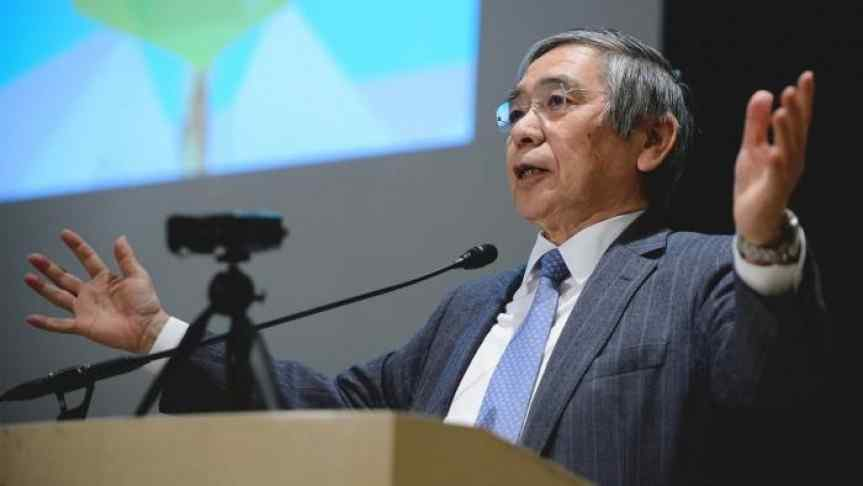 Picture of Governor of the Bank of Japan, Haruhiko Kuroda