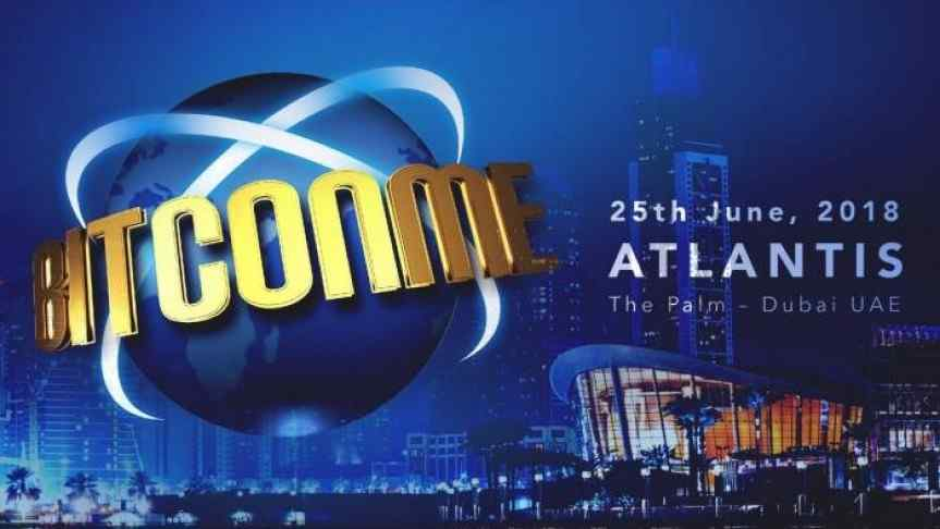Bitconme conference coming to Dubai on June 25th