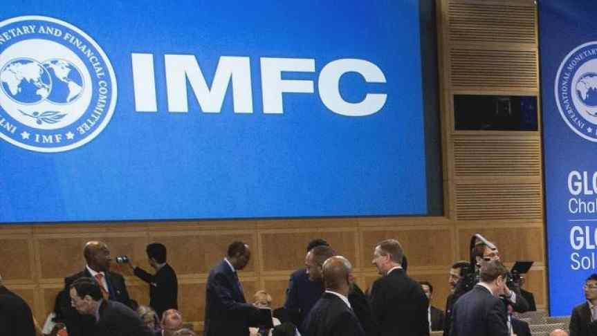 Image showing the IMFC logo and a couple of participants
