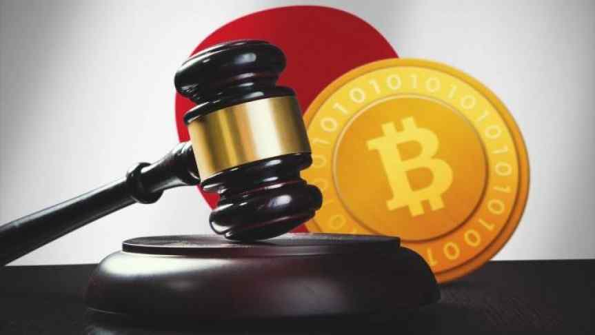 Black and gold judge gavel next to Bitcoin gold logo