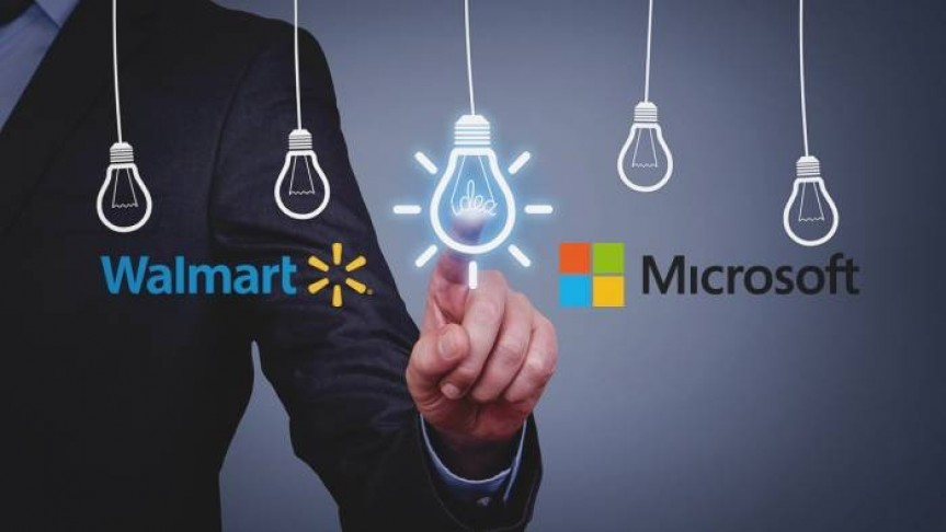Walmart and Microsoft Blockchain