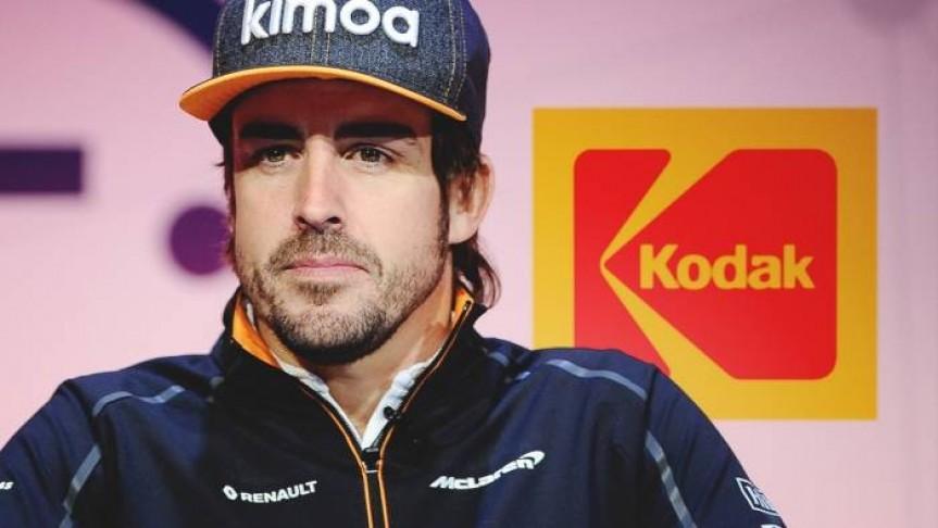 Fernando Alonso KodakOne Blockchain