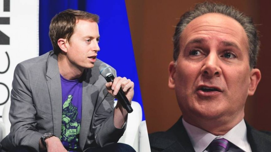 Voorhees and Schiff Bitcoin debate