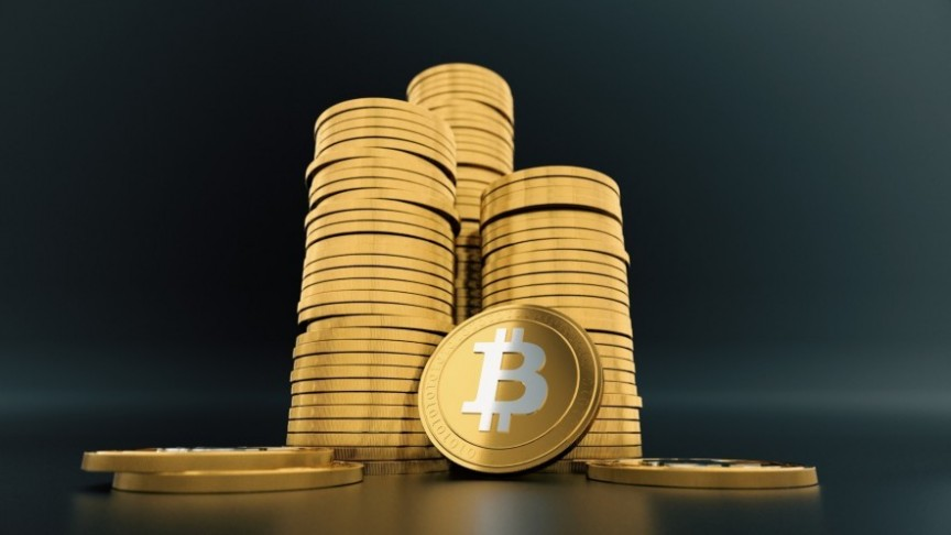 Cryptocurrency Market Bitcoin rise.