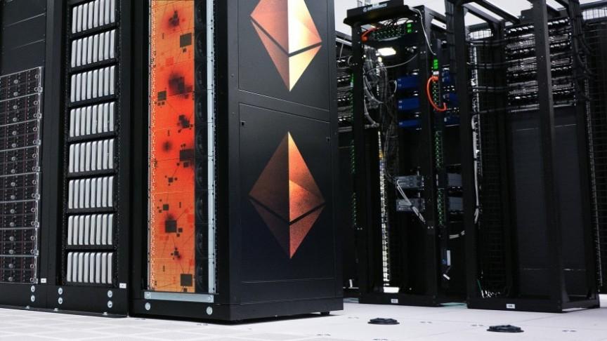Ethereum computer farm broken and burnt