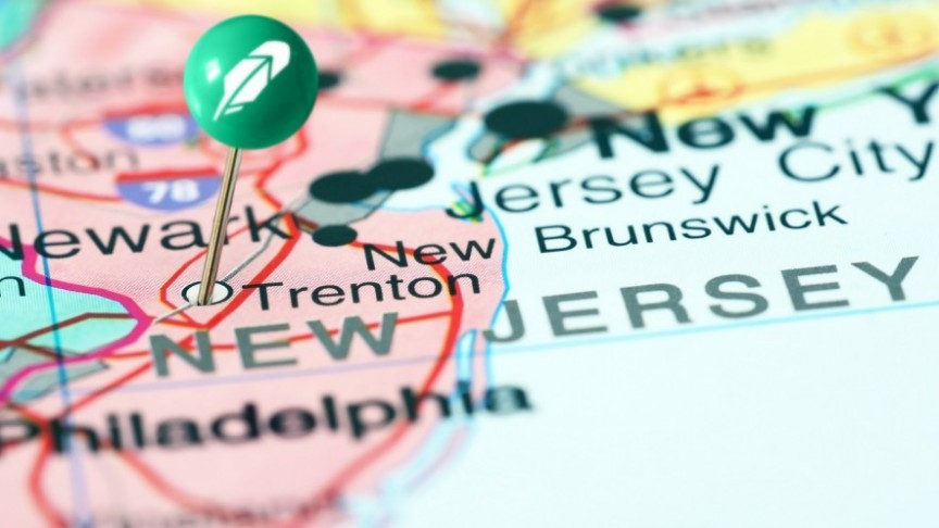Robinhood expands to New Jersey