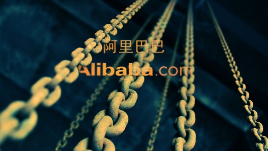Alibaba name in English and Chinese, elevators chains
