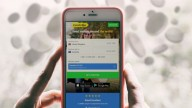 smartphone showing TransferGo app