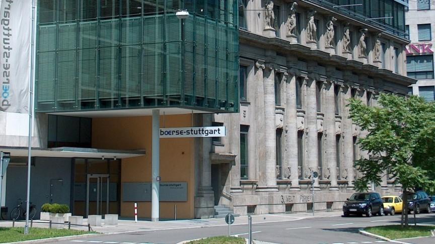 Borse Stuttgart building