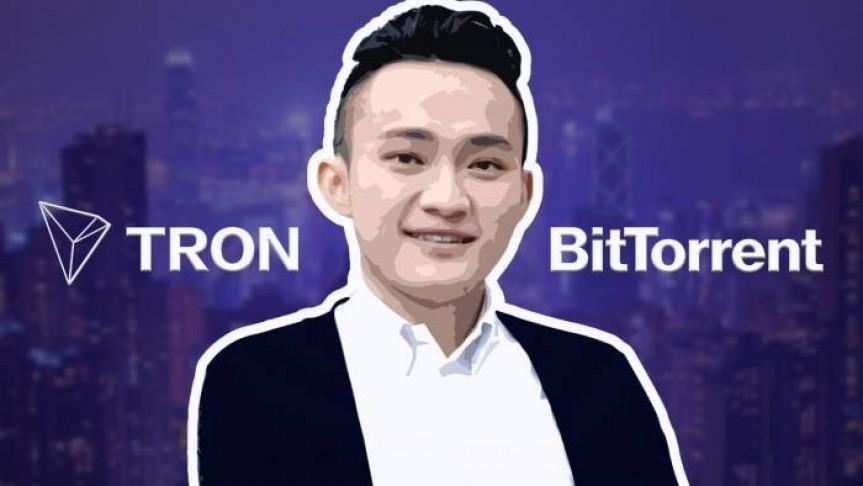 Justin Sun, Tron logo