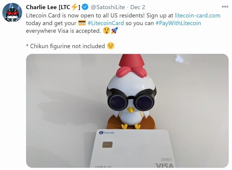 litcoin card