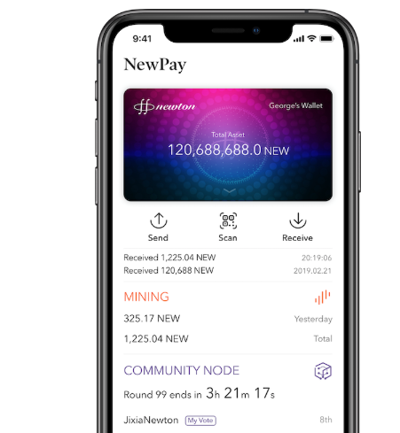 newton blockchain